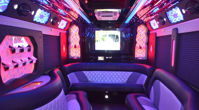 vacaville 40 passenger party bus