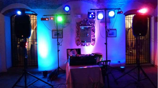 DJ Equipment, lighting and sound Service Petaluma