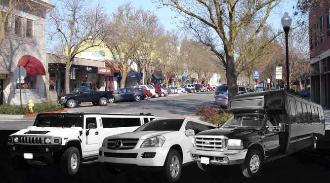 vacaville limo service in davis